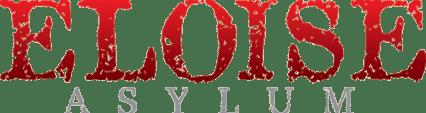 eloise asylum haunted house logo