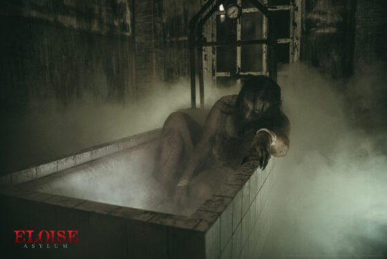 patient treatment bath at eloise asylum haunted tour in michigan